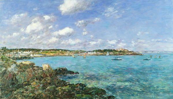 Eugène Boudin - La baie de Douarnenez (1897)