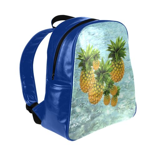 Pineapples Multi-Pockets Backpack. #FREEShipping #artsadd #lbackpacks #fruits