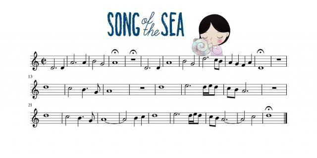 Song Of The Sea ocarina tab