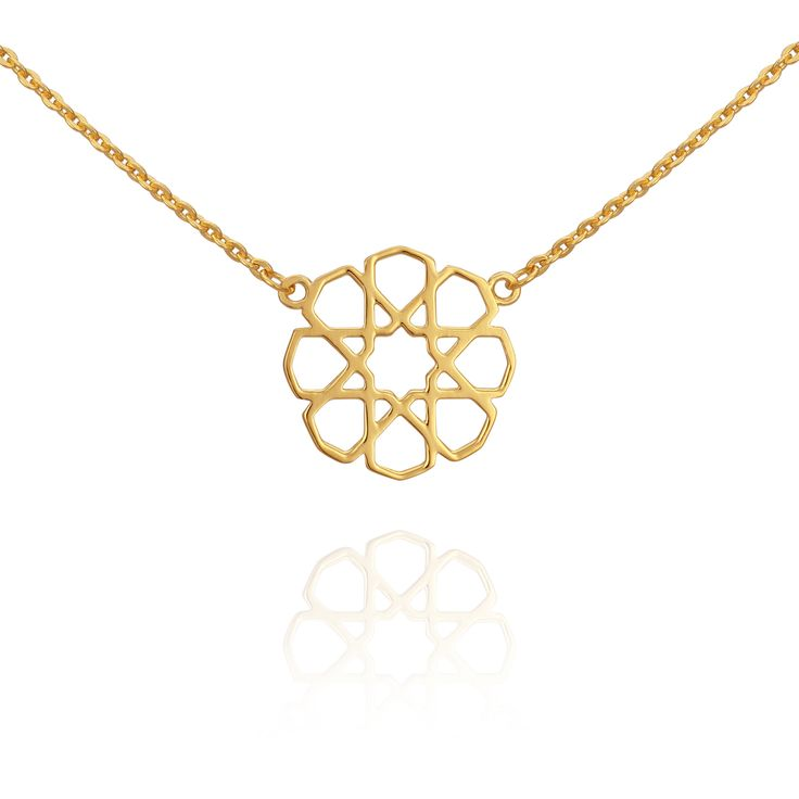 TEMPLE OF THE SUN JEWELLERY BYRON BAY - Persian Star Necklace Gold, $129.00 (http://www.templeofthesun.com.au/persian-star-necklace-gold/)