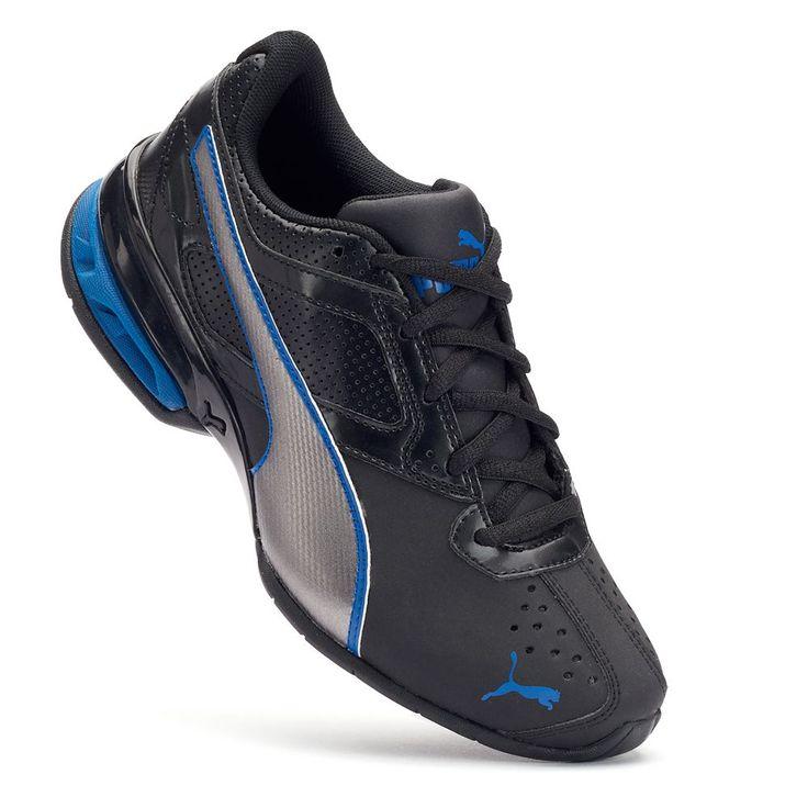 PUMA Tazon 6 SL Jr. Boys' Running Shoes, Size: 5, Black