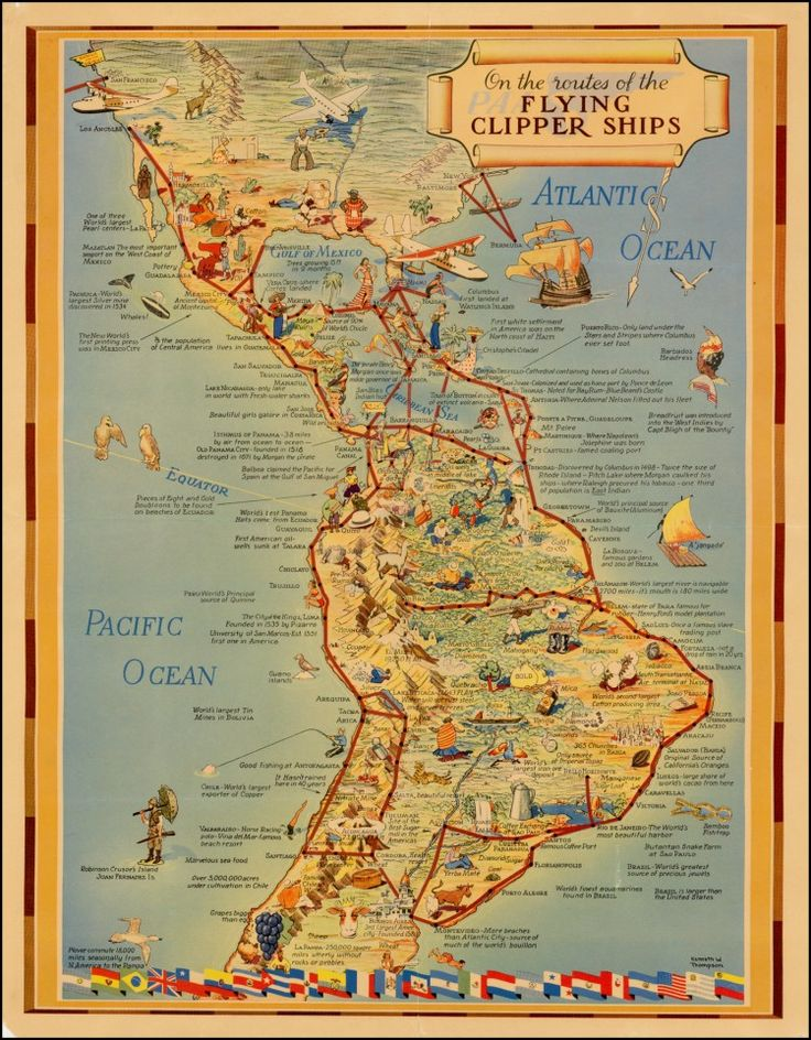 536 best cartography maps images on pinterest cartography maps on the routes of the flying clippers 1905 gumiabroncs Image collections