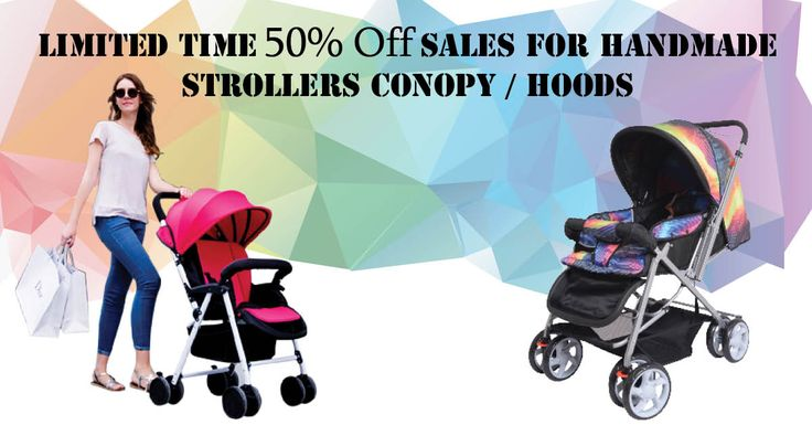 Limited time 50% OFF sales for handmade #StrollerCanopysHoods By Lovee Click here on http://goo.gl/qh3tkF
