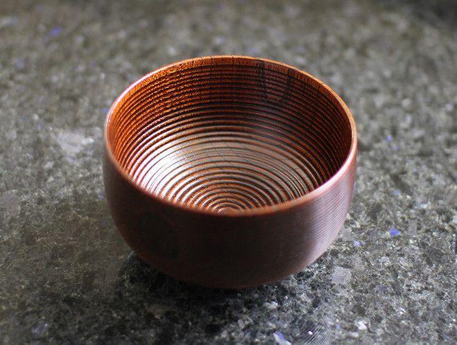 Zelkova Line Bowl by Kihachi Workshop