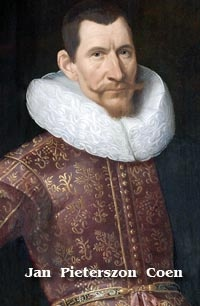 This Day in History: Mar 20, 1602: Dutch East India Company founded http://dingeengoete.blogspot.com/ http://www.dmacdigest.com/images/web%20images/history/jakarta/Jan_Pieterszoon_Coen_by_Jacob_Waben-small-2a2.jpg