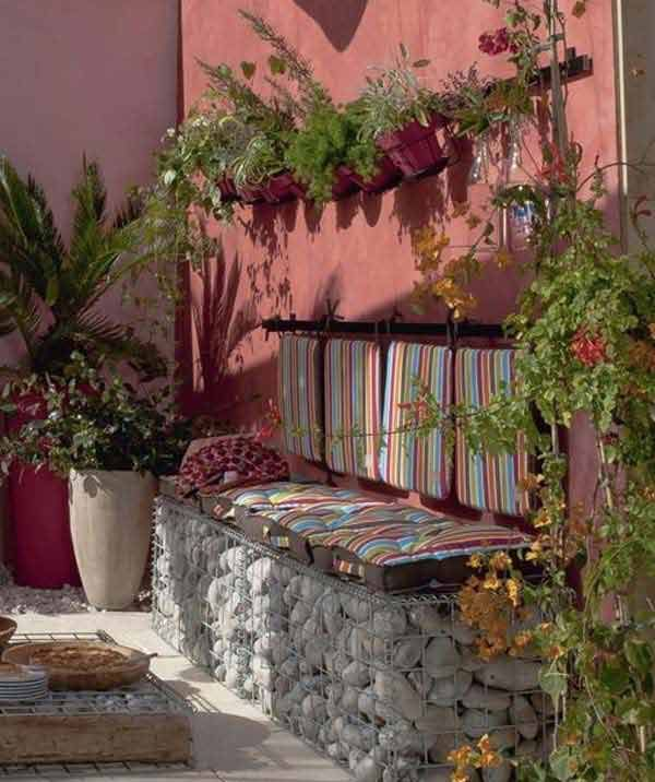 Fifteen İncredible DIY Garden Redecorating Ideas by using Rocks 10