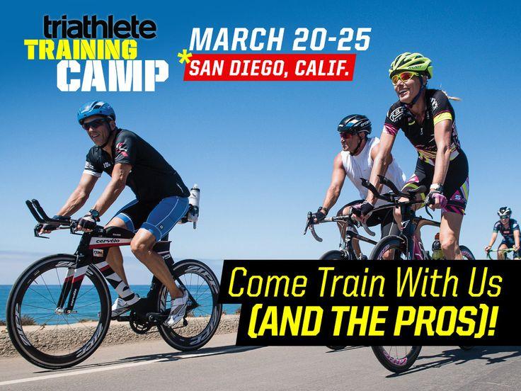 2015 Triathlete Magazine Training Camp. I want to go to there!