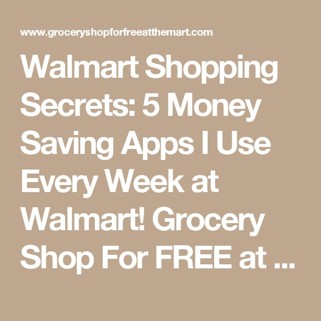 Walmart Shopping Secrets: 5 Money Saving Apps I Use Every Week at Walmart! Grocery Shop For FREE at The Mart!! | Grocery Shop For FREE at The Mart!!