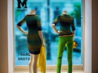 Escaparate tienda M de Missoni Calle de Lagasca, 69 - Madrid