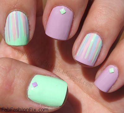 Nails Pastel Trend And Inspirations Fab Fashion Fix