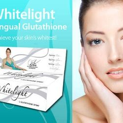 Whitelight Sublingual Glutathione achieve your skin whitest Manufactured by Natures Way,it's antioxidants. Price AU$60.00  It's 50ml bottle.