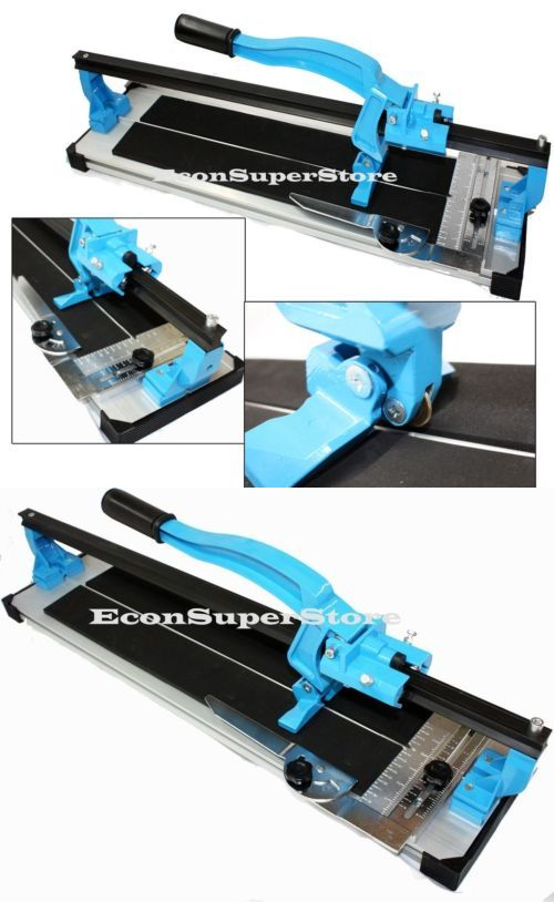 Tile Saws 122836: Table Top 24 Tile Cutter W Heavy Duty Extruded Aluminum Base Slide Cutting -> BUY IT NOW ONLY: $82.99 on eBay!
