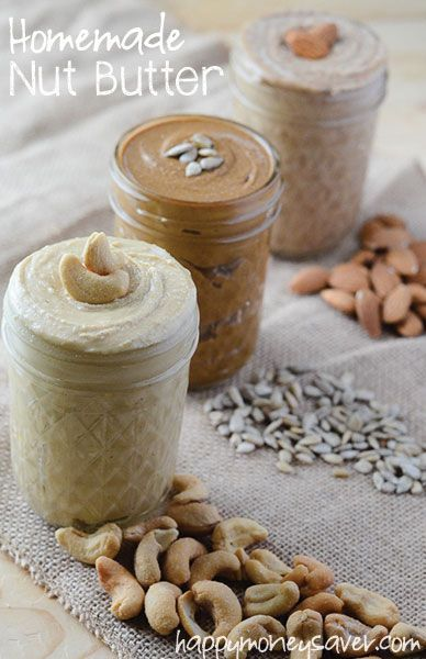 How to Make Nut Butter | happymoneysaver.com