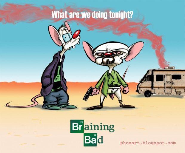 Braining Bad.