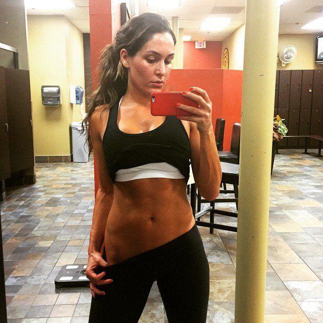 After gym selfie