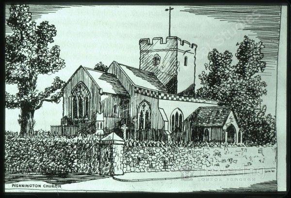 Church of St. Mary and St. Peter, Wennington Road, Wennington