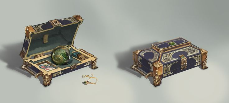 Fortuneteller's case, Victoriya Anda on ArtStation at https://www.artstation.com/artwork/fortuneteller-s-case