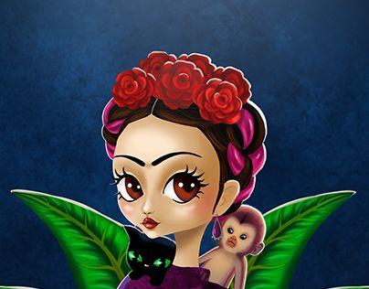 "Check out new work on my @Behance portfolio: ""Frida - Árbol de la esperanza"" http://on.be.net/1IgFFt7"