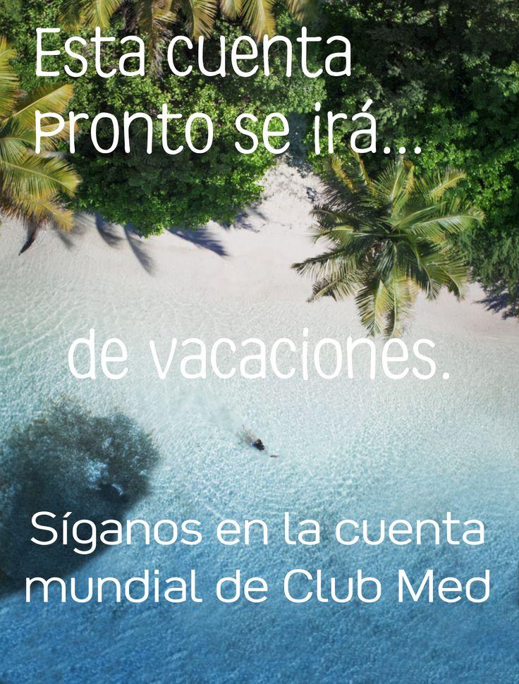 Síganos en la cuenta mundial de Club Med