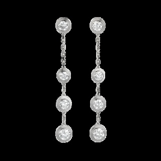 Cartier Earrings From Inside Shines A Pair Of Drop Each Has Four Diamonds One At The Base Then How I Picture Fifty Shades