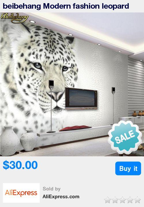 beibehang Modern fashion leopard leopard living room TV backdrop decorative painting custom wallpaper 3D large murals * Pub Date: 13:12 Oct 21 2017