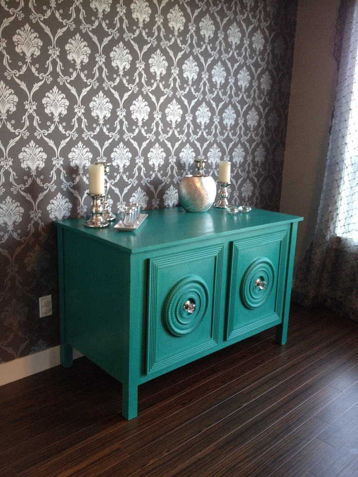 Love This Color Dining Room Hutch Refinished Using Annie Sloan Chalk Paint
