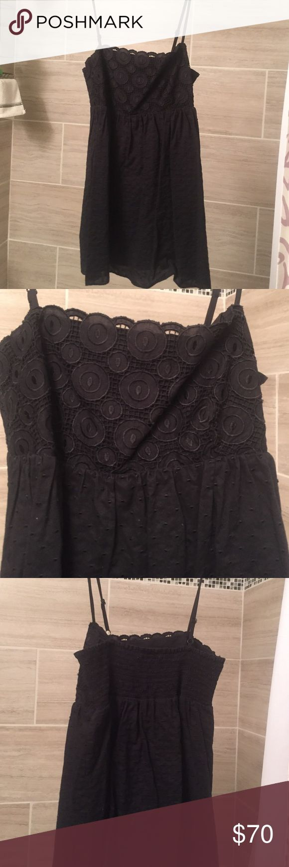 Laundry by Shelli Segal Black Babydoll Too Laundry by Shelli Segal Black Babydoll Too, size XS, great condition Laundry by Shelli Segal Tops