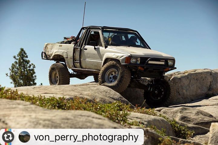 """Sweet pickup on the con #Reposting @von_perry_photography -- This weekend I got the opportunity to go out on the Rubicon Trail and shoot the 15th Marlin Crawler Round-up. It's awesome to get out and get to hang with other communities of people and see the comradery that goes along with the activity they love. Without a second guess they pull out extra parts and help each other fix any issue. First words out of most of their mouths was always """"You need any thing?"""" What a cool group…"""
