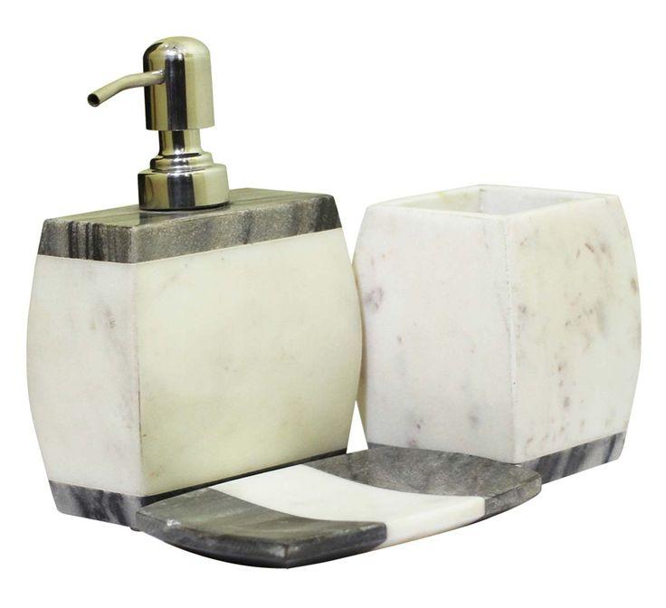 grey marble bathroom accessories. Bulk Wholesale Set Of 3 Bathroom Accessories  Liquid Soap Dispenser Tumbler A 122 Best Handmade Decorative