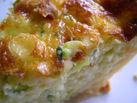 Zucchini Gruyere Quiche | Bacon, Frozen pie crust and Turkey bacon