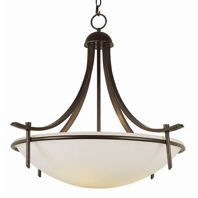 Found it at Wayfair - Contemporary 3 Light Inverted Pendant