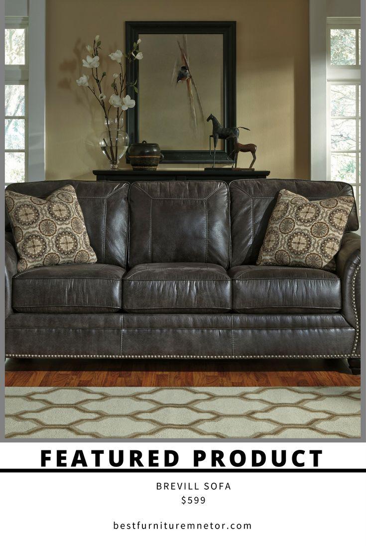 Best Ashley 800 Breville Sofa – 599 00 Charcoal Sofa 400 x 300