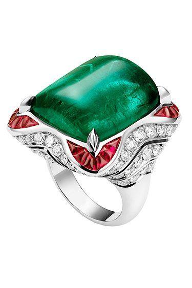 carla bruni for bvlgari jewelry bvlgari emerald ruby and diamond ring