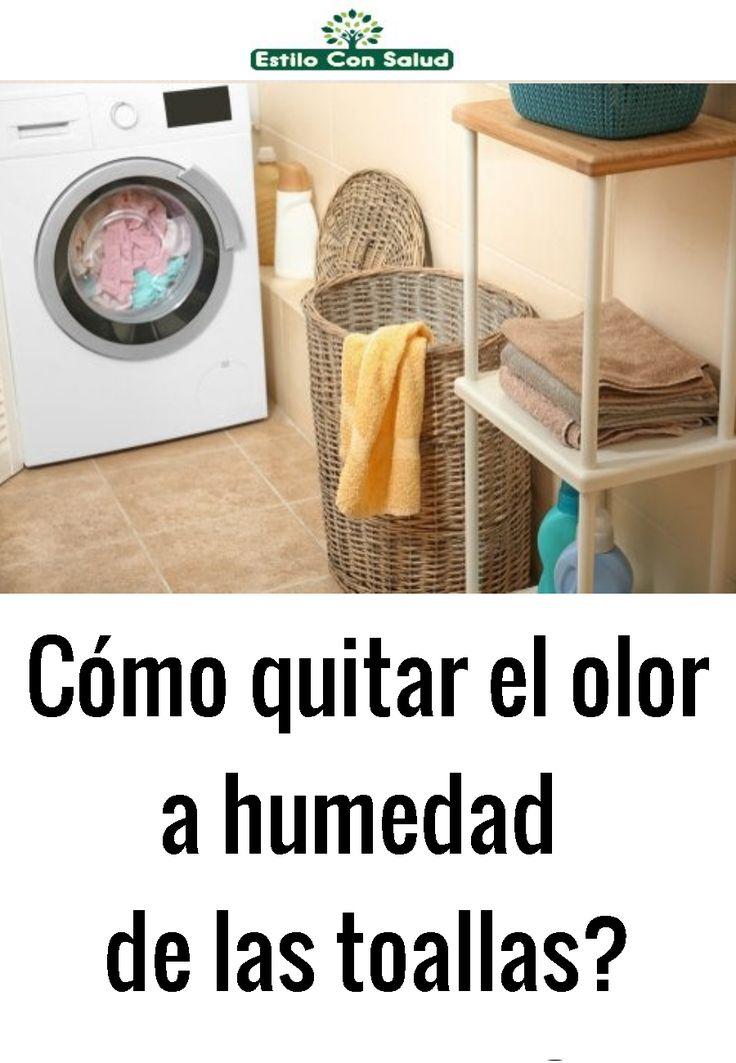 Cómo quitar el olor a humedad de las toallas?   Cleaning ...