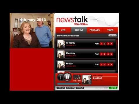 Mary Maddock MINDFREEDOM On Forced ECT Newstalk May '13 - YouTube