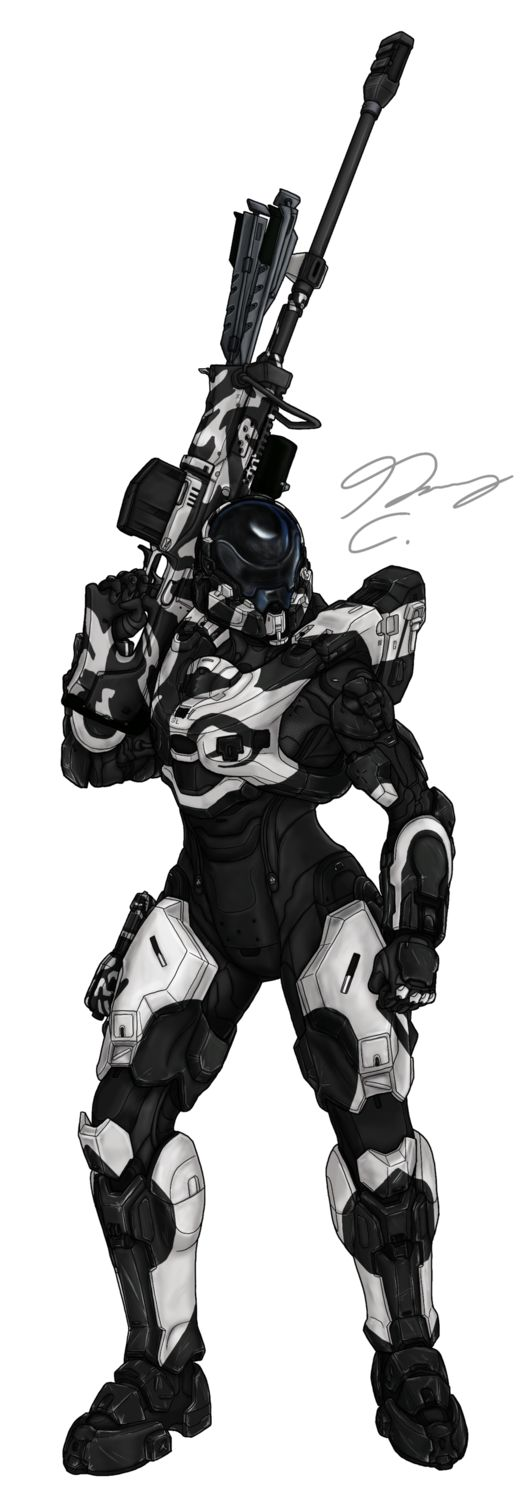 Commission - Spartan SystemLogic by Guyver89 on DeviantArt