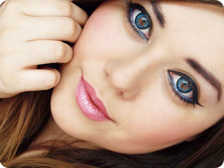 """Farbige Kontaktlinsen mit Effekt """"Big Eyes"""""""