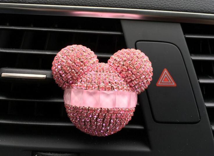 Luxus Auto Ornamente Mädchen exquisite Diamant Auto Styling Miqi Klimaanlage ou…