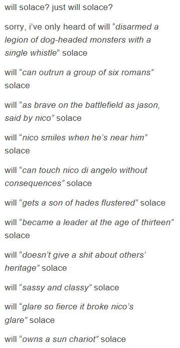 just will solace? p1 <<< THIS ISWHY I LOVE WILL OKAY I LOVE HIM SO MUCH