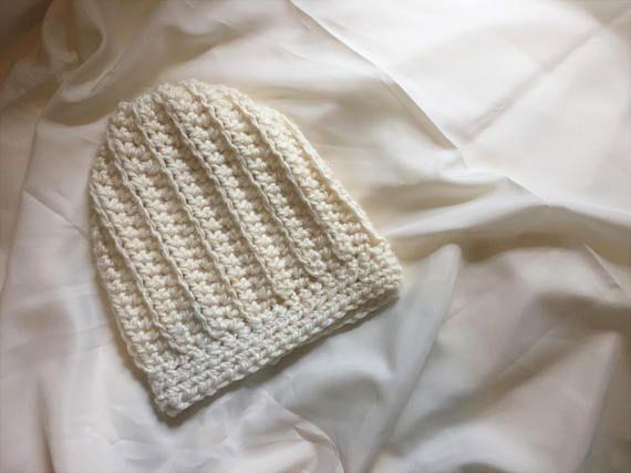 Crochet Fall Beanie / Slouchy Beanie / Hipster Beanie Hat /