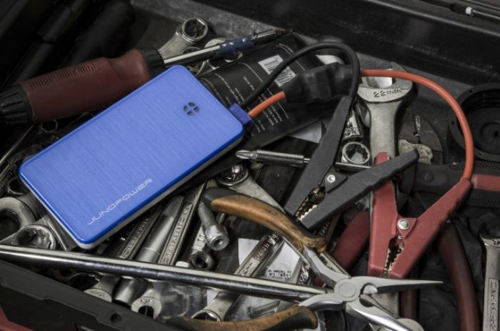 JUMPR is an External Battery That Can Even Jump Start Your Car.  Dad would love this :)