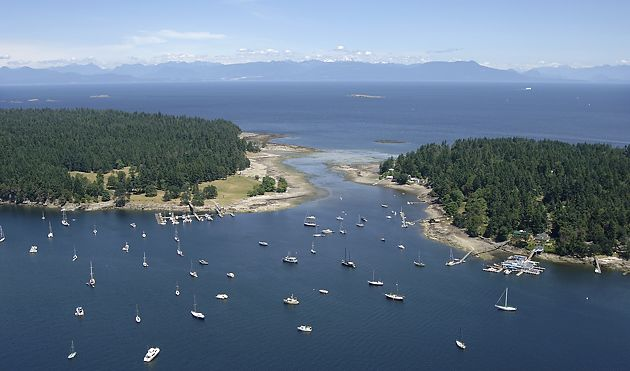 Protection Island and Newcastle Island off Nanaimo, BC, Canada  brannenlake.com #explorenanaimo