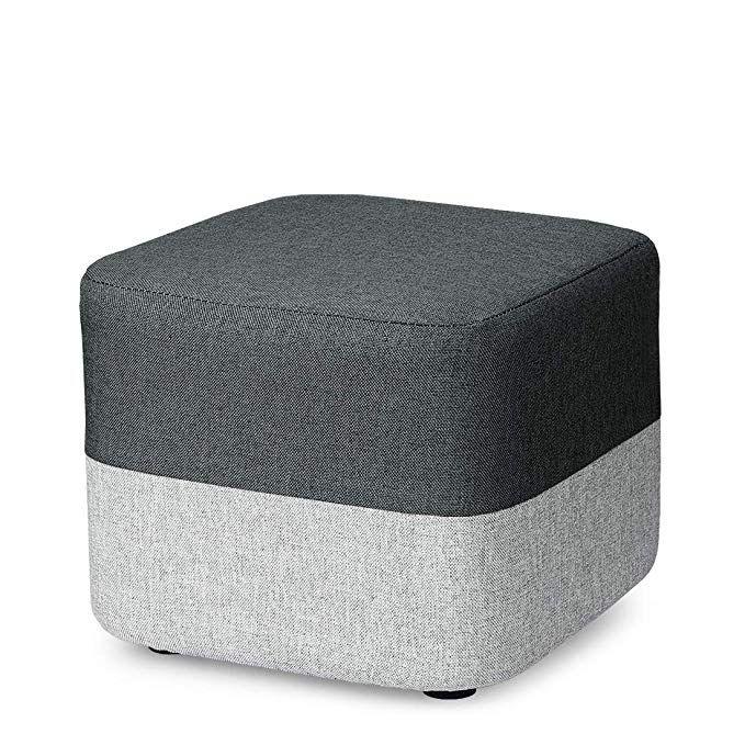 Amazon Com Coqofa Diy Ottoman Small Foot Rest Stool Square Short
