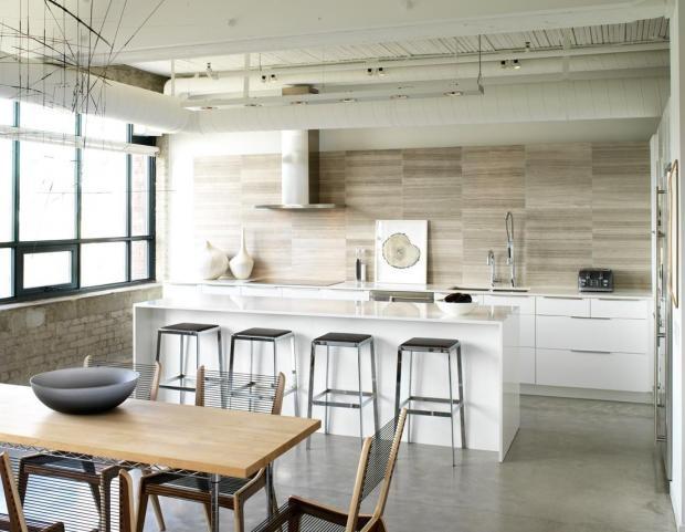 stone, texture @cultivate: White Kitchen, Interior, Croma Design, Tile, Kitchen Design, House, Kitchen Ideas, Modern Kitchens
