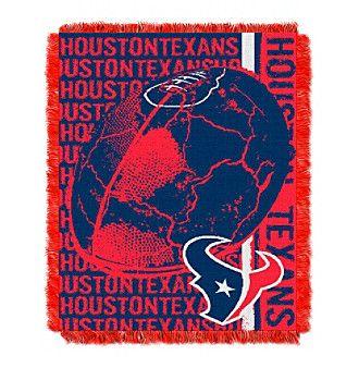 NFL® Houston Texans Jacquard Throw