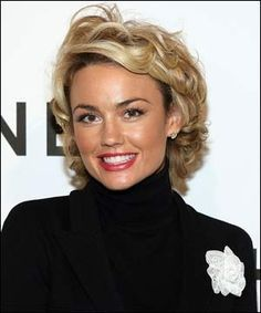 Kelly Carlson; This is perfect. Great length, with room to let the hair do its thing.