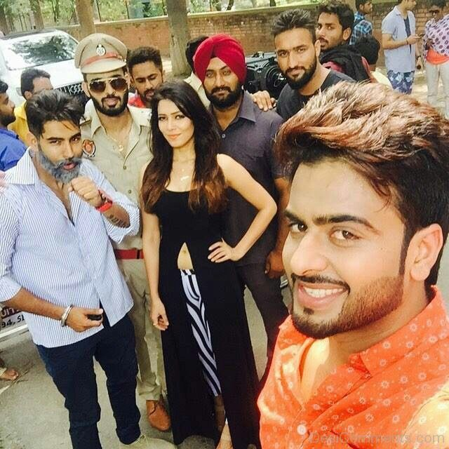 Sorry Song Download Parmish Verma: Mankirt Aulakh And Parmish Verma With Whole Cast Of