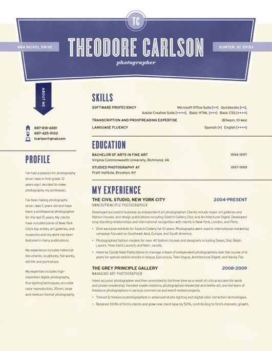 find this pin and more on resume design - Loft Resumes Free