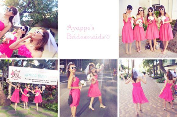 ブライズメイドのススメ ゜*:.。.:* |Ayappe's Hawaii Wedding Diary♥|Ameba (アメーバ)