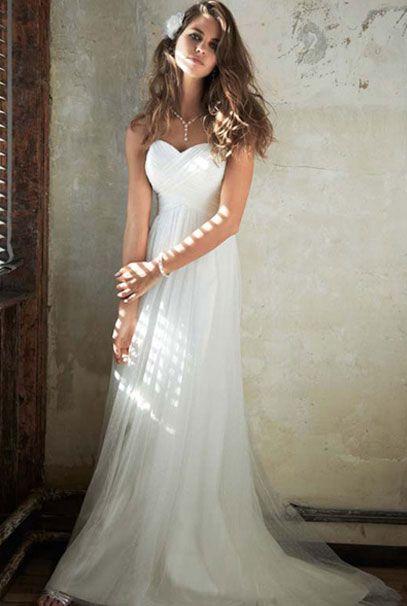 Американские свадебные платья в пол